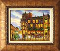 Стара София - Гранд хотел Панах. Масло/платно 35х27 см. Автор - Мила Василева